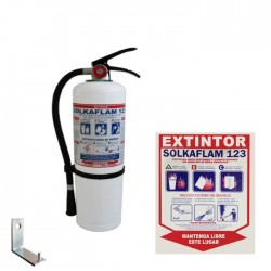 Extintor Solkaflam 3700 Gms Cil Import