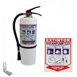 Extintor Solkaflam 9000 Gms Cil Import