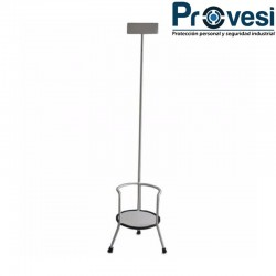 Soporte Pedestal Extintor 10-20-30 Libras Ideal Para Oficinas O Establecimientos Comerciales