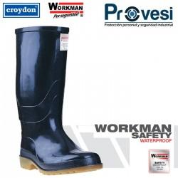 Bota Workman Safery Waterproof Negra C/P Tallas 35-46 Ref Ad60090