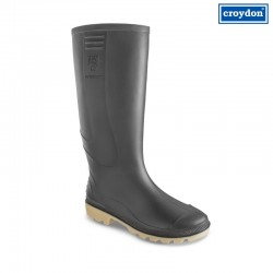 Bota Pvc Croydon Super Argyll Negro C/P Tallas 35-46