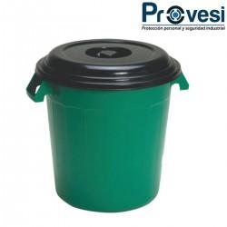 16010090 - Tanque Contenedor Tapa Normal 120 Lts Verde Clp Colplast
