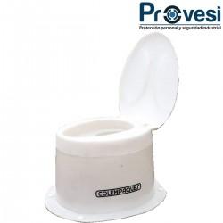 16010150 - Sanitario Seco Ovalado Estandar Tapa Colempaques