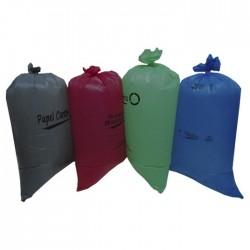 Bolsa Plastica Aseo Biodegradable Punto Ecologico 20 Lts X 25 Und