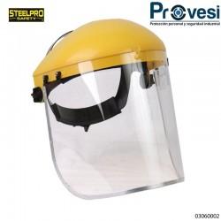 03060002- Careta Esmerilar Visor Ribete Steelpro