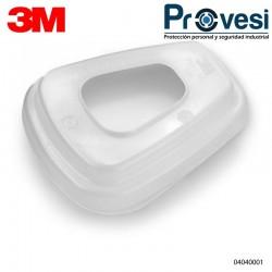 Retenedor 3M 501 Para Prefiltro 5N11 Serie 6000 Elaborado En Polipropileno
