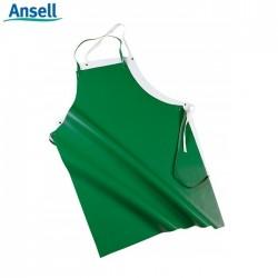 Delantal Ansell Pvc Verde...