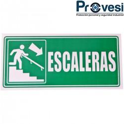 Señal Escaleras Bajando Der...