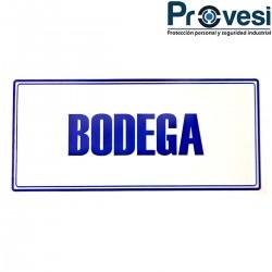 Señal Bodega 30X15