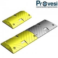 Reductor Velocidad Plastico Con Lentes 100X30X5Cm Pg Tr Esñ Mnf Rsl-002 Am Resalto Vial Plástico Amarillo Con Lentes