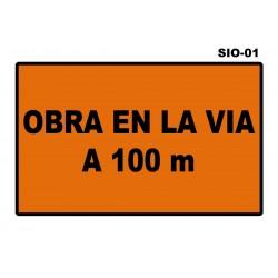 07070202 - Senal Obra En La Via Sio-01 (Señal Metalica Movil Temporal)
