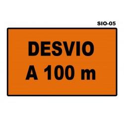 07070204 - Senal Desvio Sio-05 (Señal Metalica Movil Temporal)