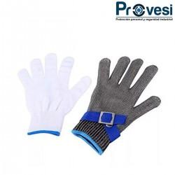 Guante Plástico Calibre 35 Protex Largo L