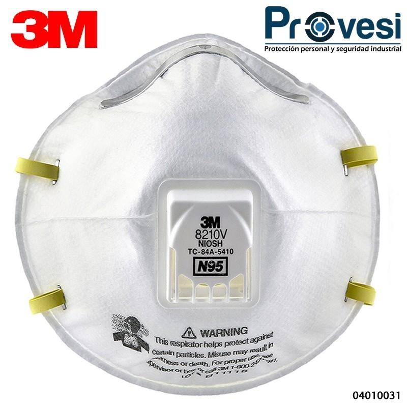 Respirador 3M 7502 Silicona Media Cara T-M